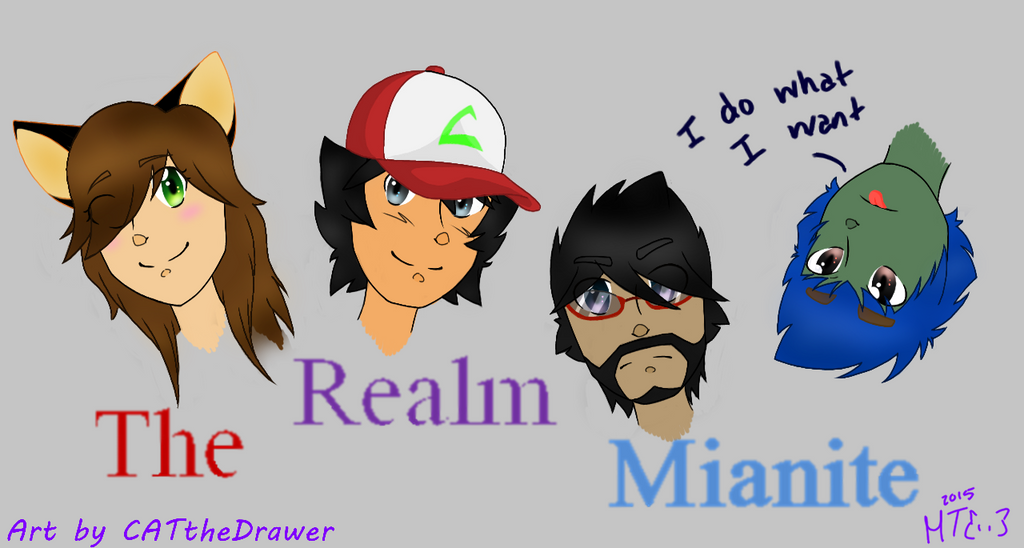 Mianite Doodle by CATtheDrawer