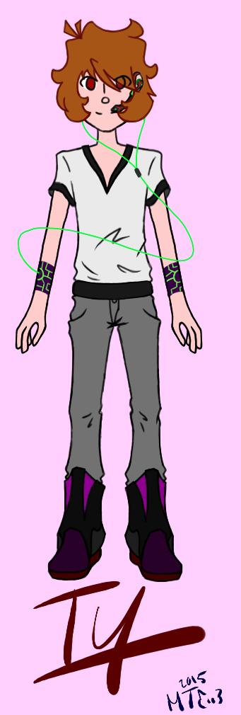 Ty: Cybercube by CATtheDrawer