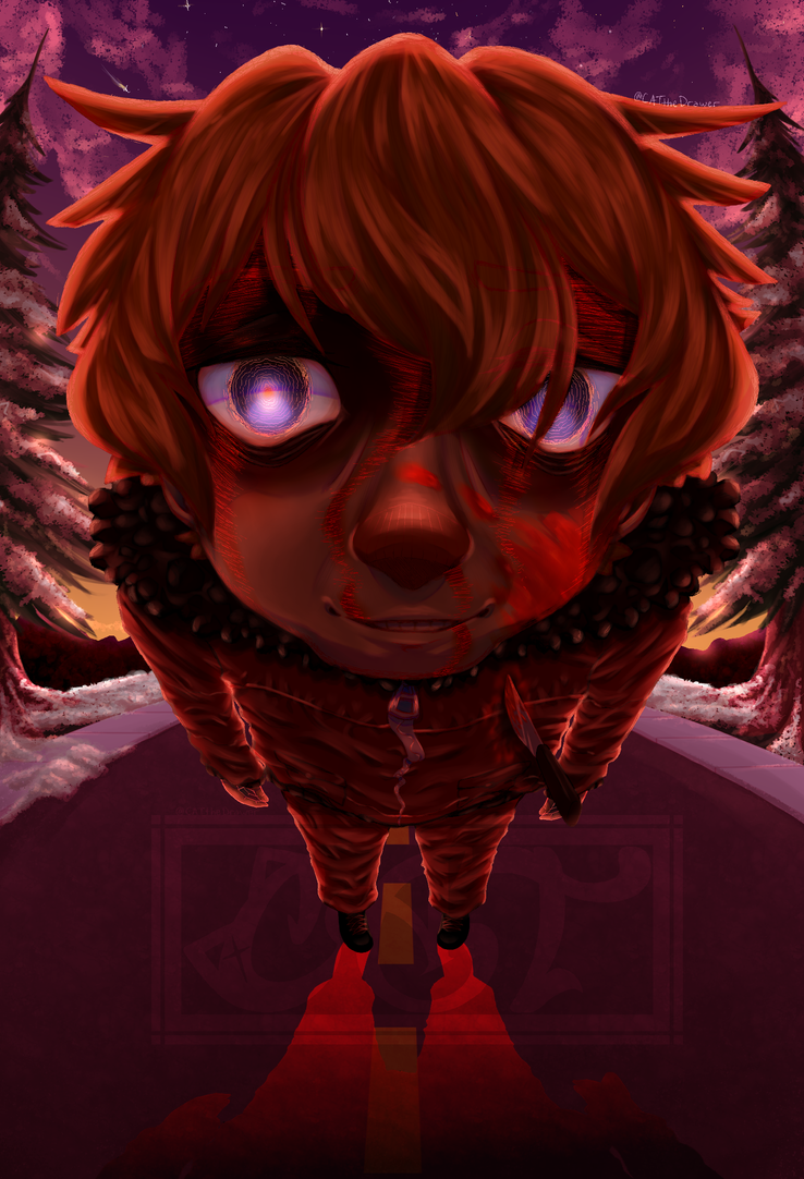 Broken [Kenny Mccormick] [G O R E] by CATtheDrawer