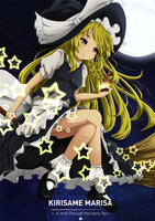 Kirisame Marisa - A Stroll Through the Starry Sky