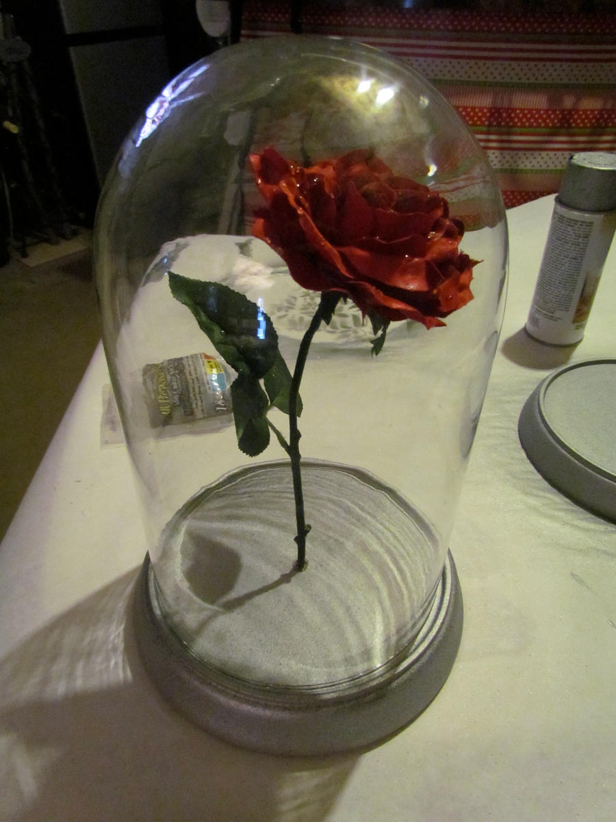 New Enchanted Rose By Wanderinpikachu On Deviantart