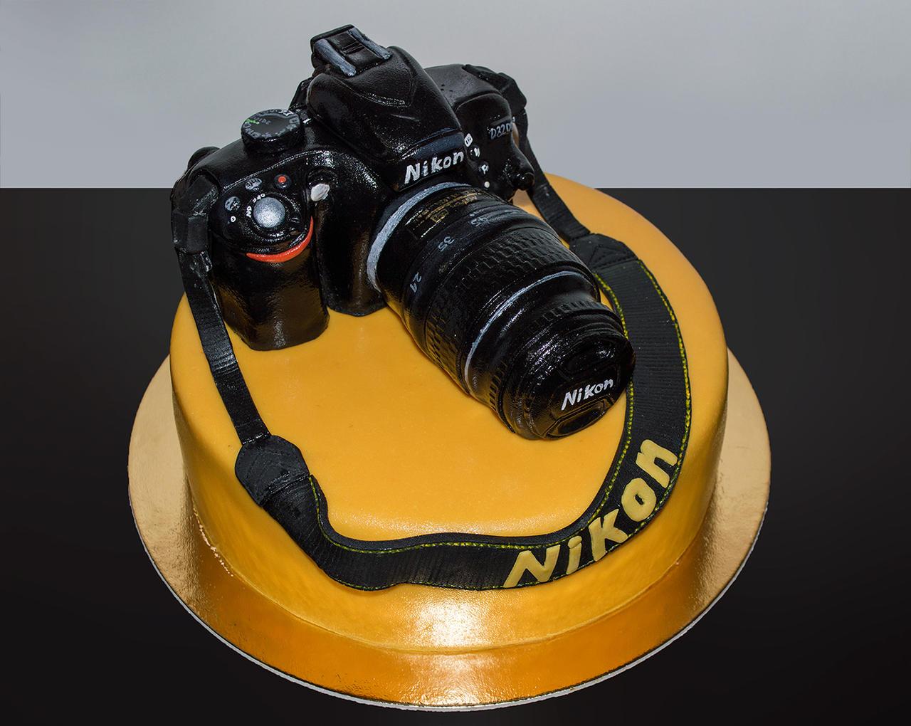 Nikon Camera Cake Images : Sacher Nikon CAKE by Mandy0x on DeviantArt