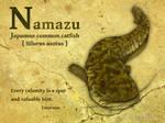 Namazu -Japanese common catfis