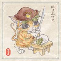 [Kitten] Takikomi gohan'Nameshi' by chills-lab