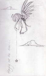 Hanging out the stars -sketch