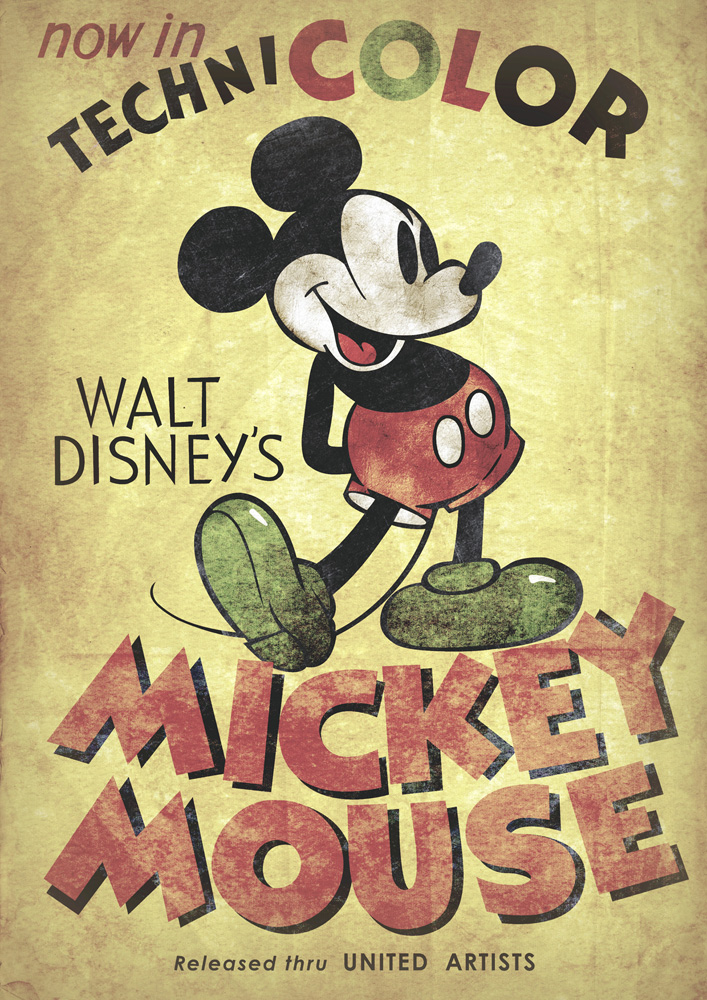 Mickey Mouse Vintage II by d-russo on DeviantArt