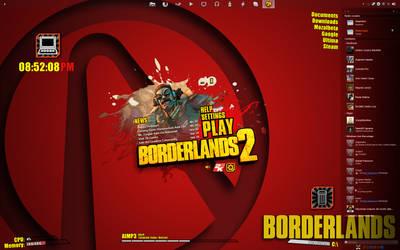 Borderlands 2 Desktop by Ramiroquai