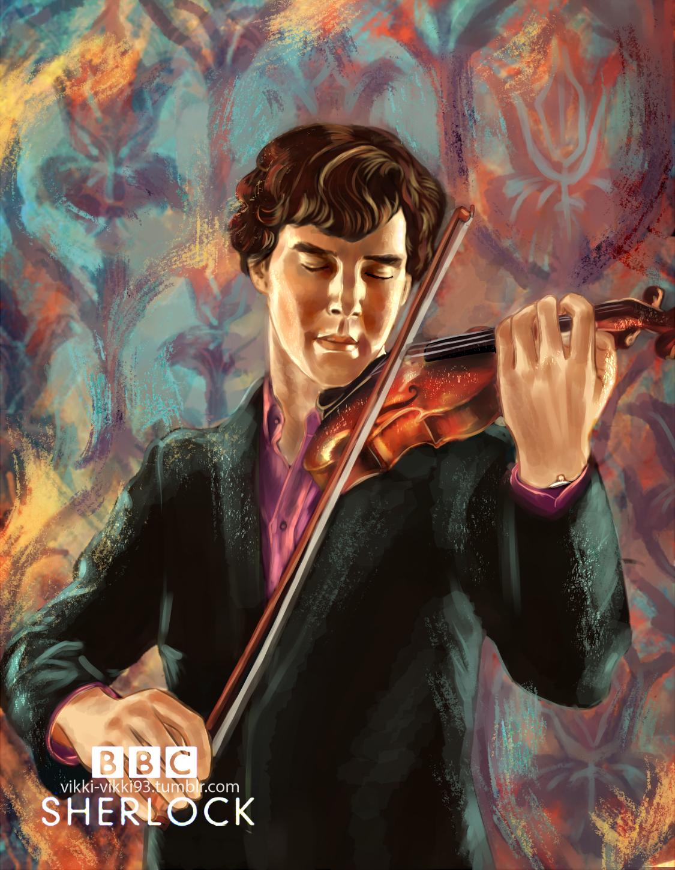Sherlock Holmes by Vikki93