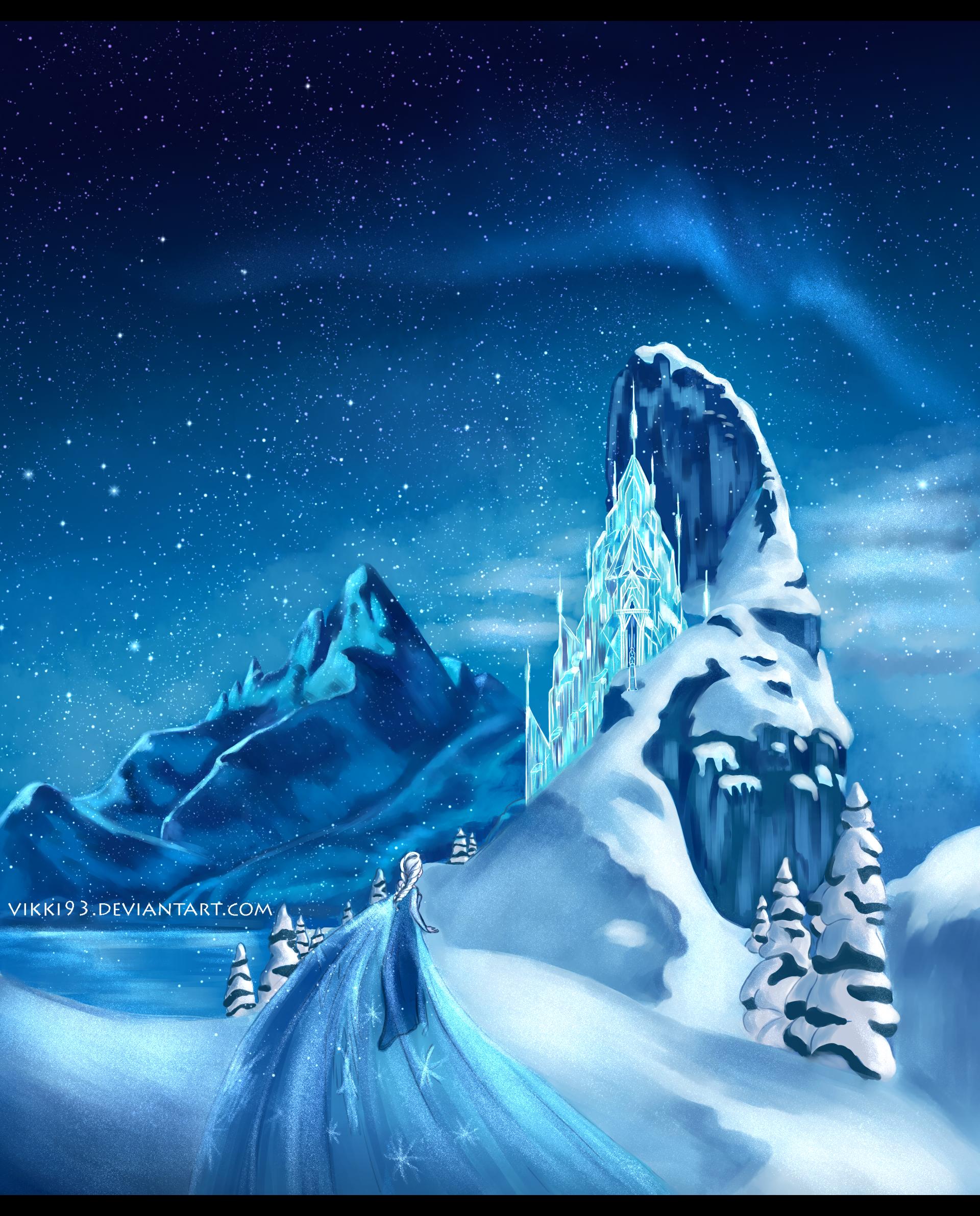 Frozen by Vikki93 on DeviantArt