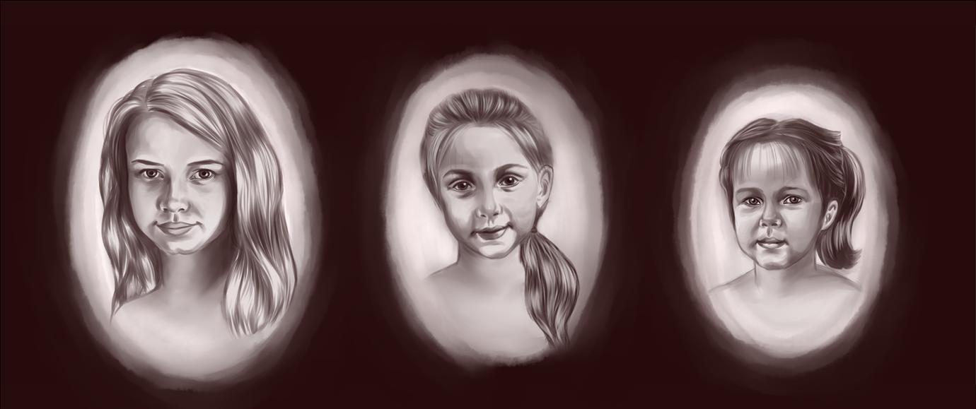Family portrait by Vikki93