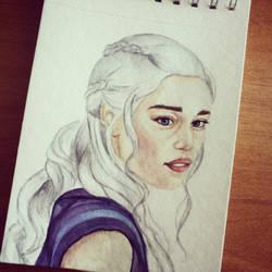 Daenerys Targaryen by Vikki93