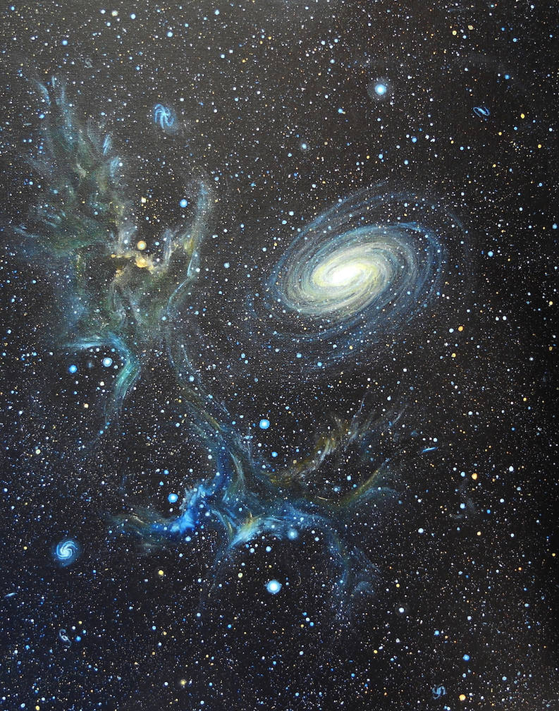 Deep Space 7 by seence-art