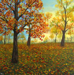 Fall Forest by seence-art