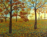 Fall Forest 2 by seence-art