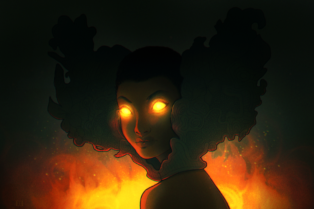 Pepper Ablaze by ArtOfEdge