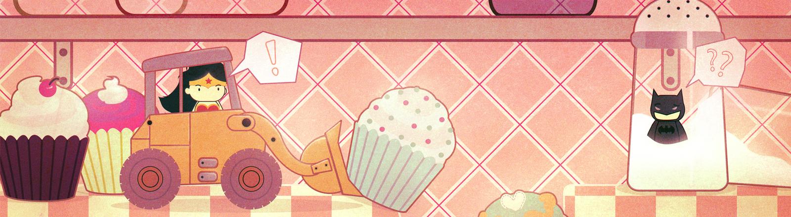 Kitchen Antics by Peppermint-Pinwheel