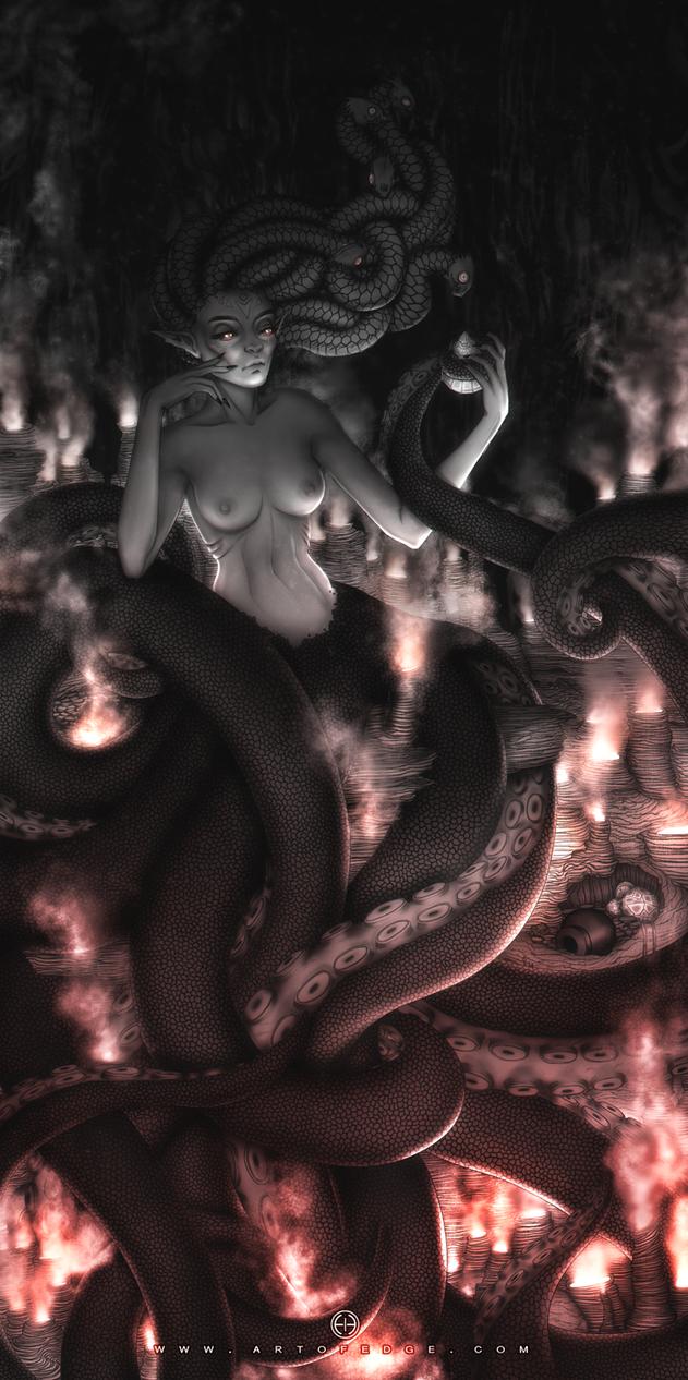 Medusa by Peppermint-Pinwheel