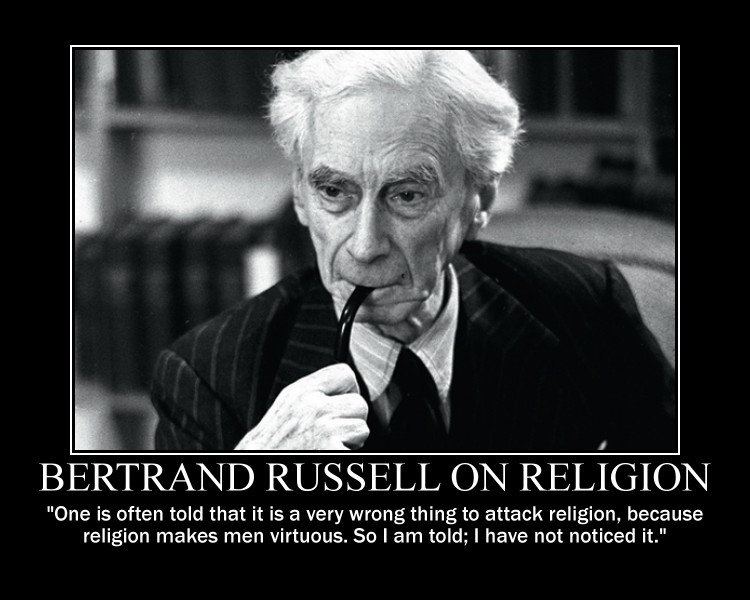 bertrand russell essays on religion