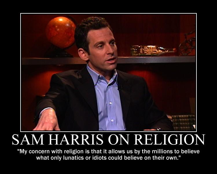 Sam Harris On Religion By Fiskefyren On DeviantArt