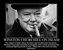 Winston Churchill on Islam by fiskefyren