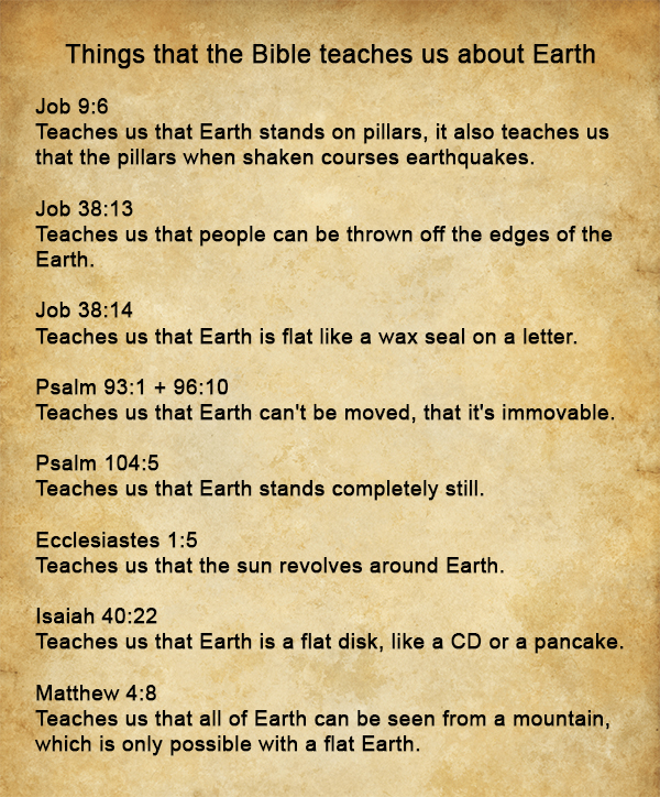 Things that the Bible teaches us about Earth by fiskefyren