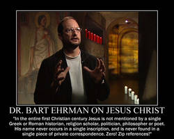 Dr. Bart Ehrman on Jesus Christ by fiskefyren