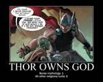 Thor owns God