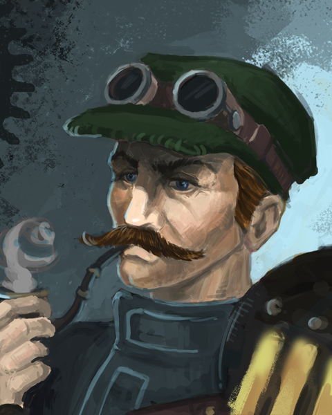 chief engineer of Ragodium by Balabanov