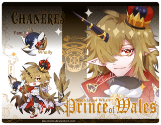 [AUCTION Adopt] Chaneres Prince of Wales [Closed]