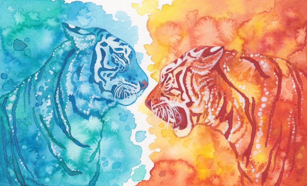 yin yang dragon wallpaper hd