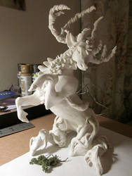Forest Spirit WIP by Aikya