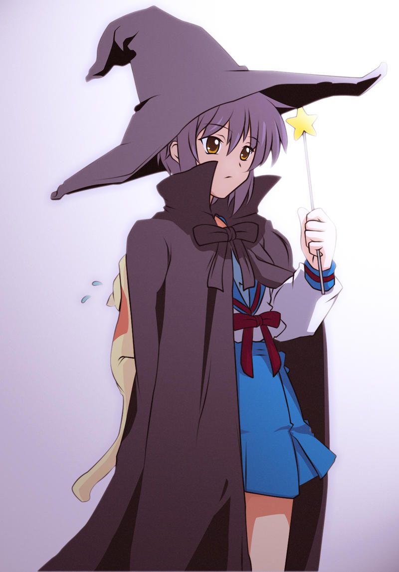 incredible anime girl witch outfit cast