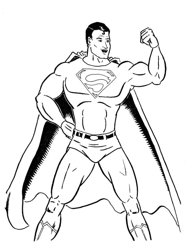 easy superman drawings - photo #14