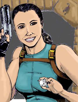 Tomb Raider colors