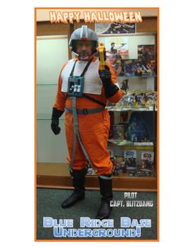 X-Wing pilot Happy Halloween