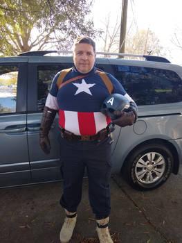 Captain America on Thanksgiving