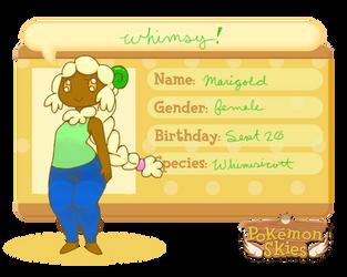PKMNSkies: Marigold by teatoad