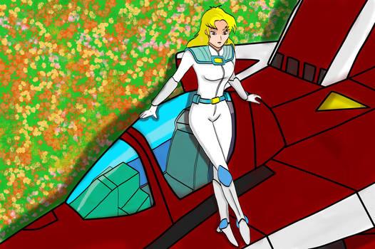 Karen Penn - Robotech II The Senitnels