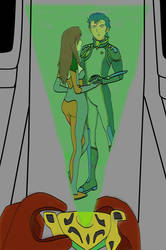 Ariel and Scott - Robotech The Shadow Chronicles