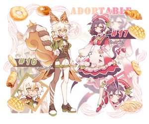 [CLOSED] ADOPTABLE AUCTION #16 #17