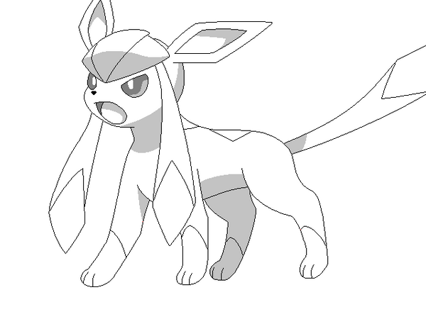 Espeon Coloring Pages