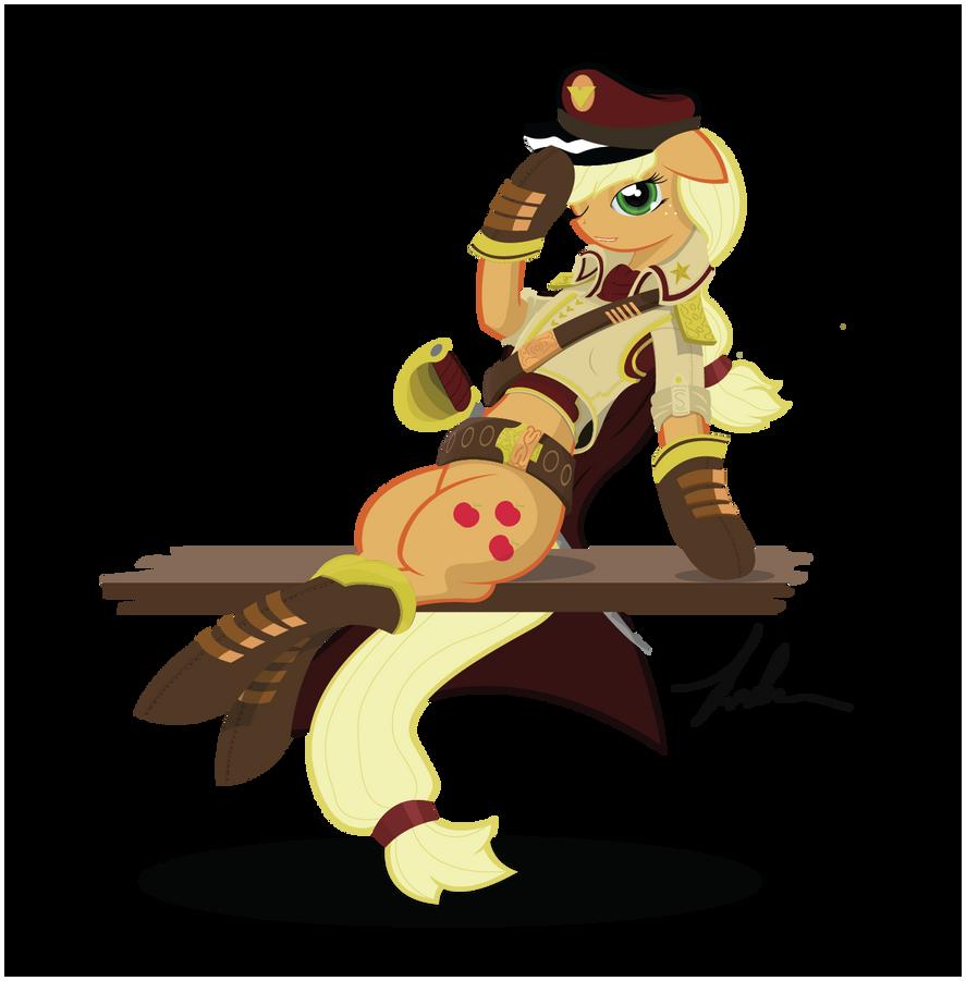 Admiral AppleJack by Wreky