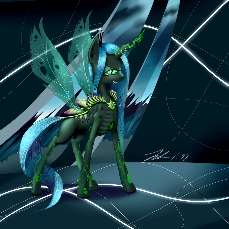 Chrysalis - The Changeling Queen by Wreky