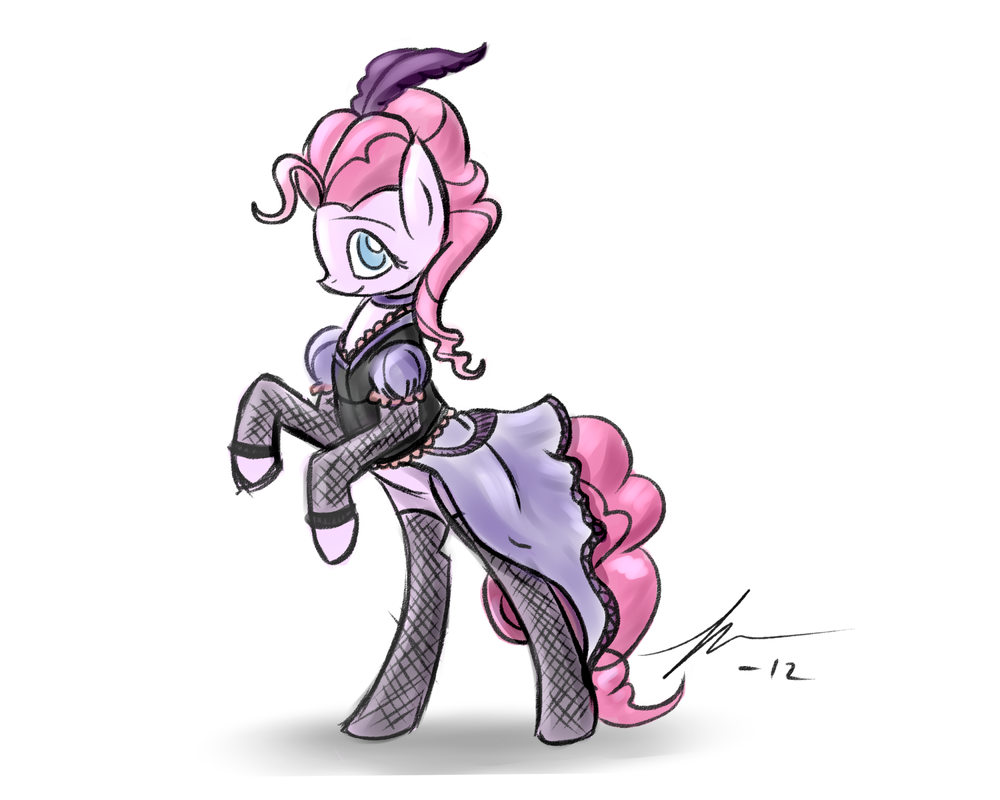 quick pinkie sketch by Wreky