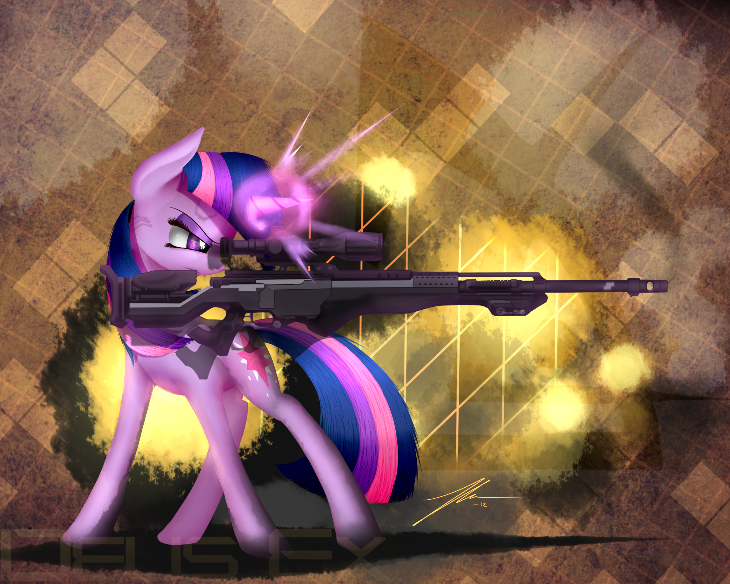 Sniper Twilie by Wreky
