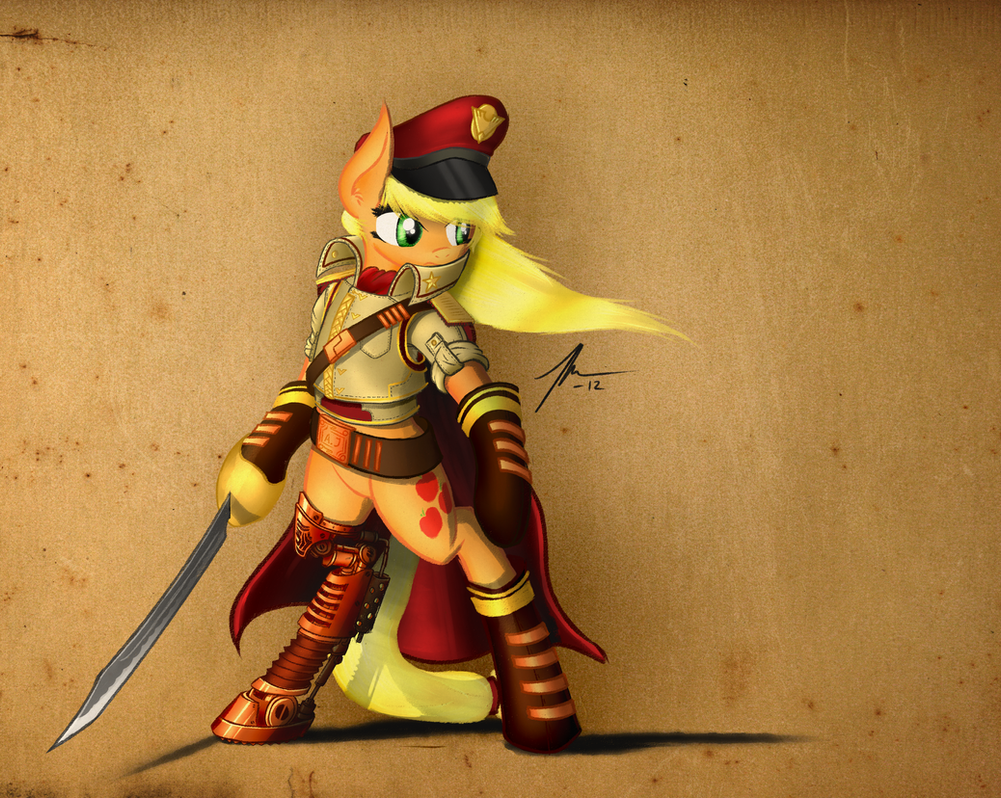 Admiral AppleJack by Wreky