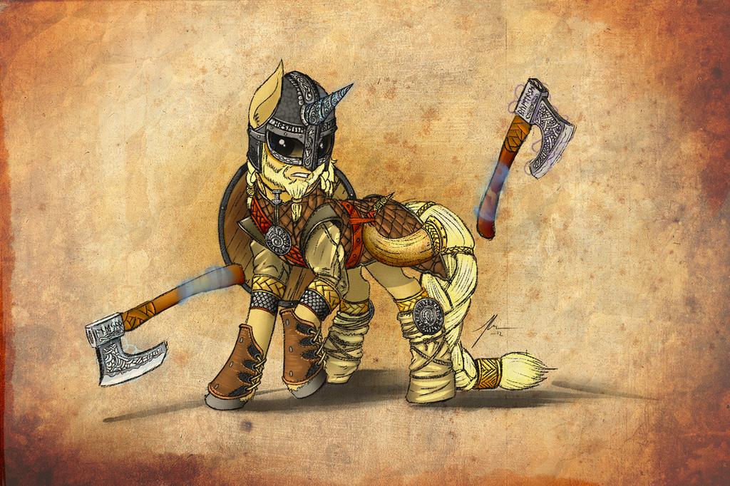 Viking Pony by Wreky