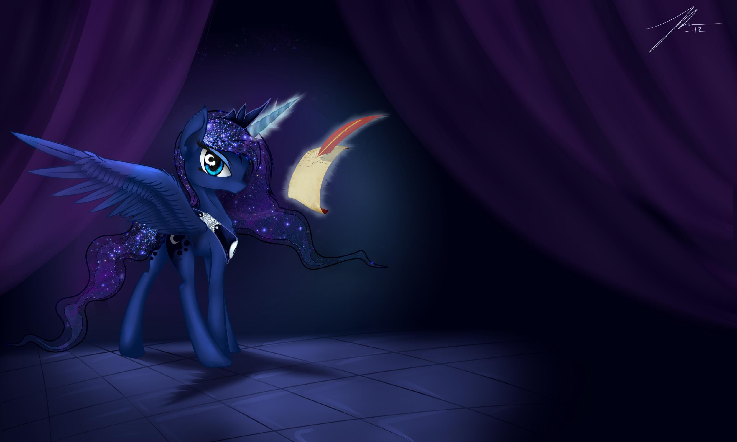 Luna by Wreky