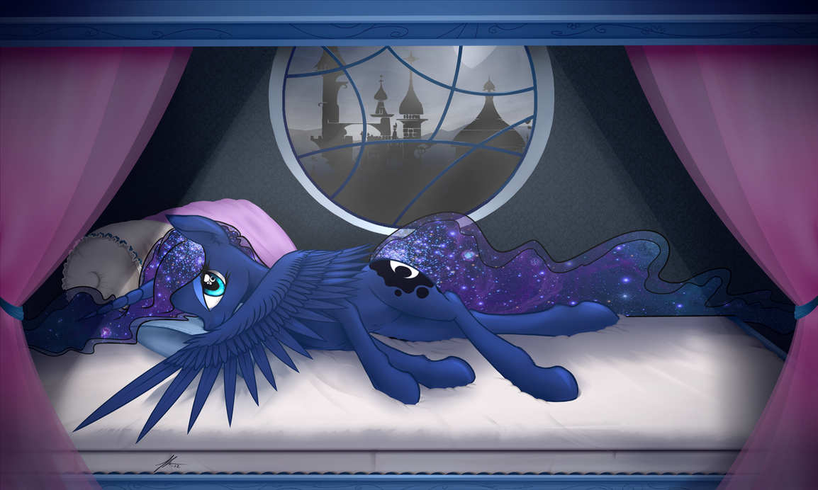 Graceful Luna by Wreky
