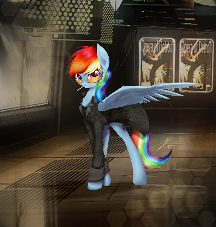 Agent Dashie Revised by Wreky